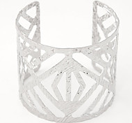 cheap -Women's Cuff Bracelet - Open Fashion Adjustable Silver Golden Bracelet For Party Daily Casual
