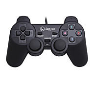 cheap -L-300S Wired Game Controllers For PC Vibration Game Controllers ABS 1pcs unit USB 2.0