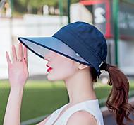 Недорогие -Кепка Лето Защита от солнца / Съемный / Молния YKK Пешеходный туризм / На открытом воздухе / Путешествия Жен. Холщовая ткань Классика