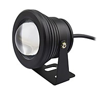 cheap -1pc 10W Underwater Lights Waterproof Decorative Warm White Cold White 12V Garden Courtyard Swimming pool Outdoor Lighting