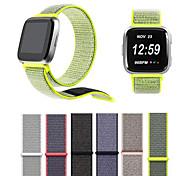 cheap -Watch Band for Fitbit Versa Fitbit Modern Buckle Nylon Wrist Strap