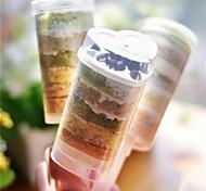 abordables -Outils de cuisson Plastique Creative Kitchen Gadget Cupcake / Pour Ustensiles de cuisine Nouveauté Moules à gâteaux 10pcs