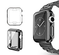 cheap -Case For Apple Apple Watch Series 3 / 2 / 1 Silicone Apple