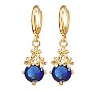 cheap -Women's Drop Earrings - Flower Romantic, Fashion Silver / Golden For Daily / Date