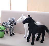 Недорогие -Лошадь / Зебра Мягкие и плюшевые игрушки Животные / Милый Акрил / хлопок Подарок 1 pcs