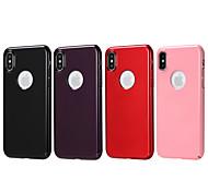 Недорогие -Кейс для Назначение Apple iPhone X / iPhone 8 Новый дизайн Кейс на заднюю панель Однотонный Твердый ПК для iPhone X / iPhone 8 Pluss / iPhone 8