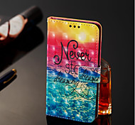 cheap -Case For Samsung Galaxy A6+ (2018) / A6 (2018) Wallet / Card Holder / with Stand Full Body Cases Scenery Hard PU Leather for A6 (2018) /