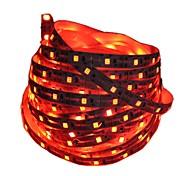 Недорогие -1m Гибкие светодиодные ленты 60 светодиоды 2835 SMD Красный / Синий Можно резать / Декоративная / Самоклеющиеся Аккумуляторы 1шт