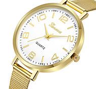 Недорогие -Geneva Жен. Нарядные часы / Наручные часы Китайский Новый дизайн / Повседневные часы / Cool сплав Группа На каждый день / Мода Золотистый