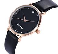 Недорогие -Жен. Наручные часы Повседневные часы / Cool PU Группа На каждый день / Мода Черный / Белый / Красный