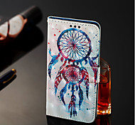 cheap -Case For Samsung Galaxy A6+ (2018) / A6 (2018) Wallet / Card Holder / with Stand Full Body Cases Dream Catcher Hard PU Leather for A6