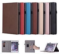 abordables -Funda Para Apple iPad (2018) / iPad Pro 10.5 Soporte de Coche / con Soporte / Magnética Funda de Cuerpo Entero Un Color Dura Cuero de PU para iPad Air / iPad (2018) / iPad Air 2