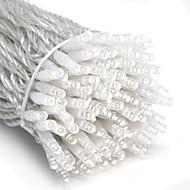 10m 6w 할로윈 축제 장식 (110 / 220v)에 대 한 100 주도 하얀 빛 문자열 요정 램프