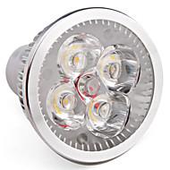 זול -תאורת ספוט לד 360 lm GU10 MR16 4 LED חרוזים לד בכוח גבוה לבן חם 85-265 V / # / #