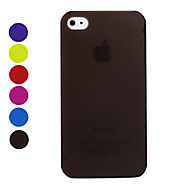cheap -Matte Surface Ultrathin Protective Case for iPhone 4 / 4S iPhone Cases