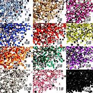 abordables Gadgets Casa y Despacho-50 pcs Joyas de Uñas arte de uñas Manicura pedicura Diario Abstracto / Moda / El plastico / Joyería de uñas