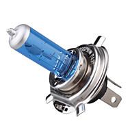 Лампочки h4 P43T 100w для фар автомобиля, белый свет, DC 12V, 1 пара (две лампочки для сигнальных огней в подарок)