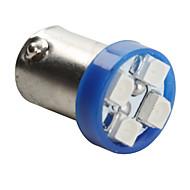 cheap LED Car Bulbs-Ba9s 5050 SMD 4-LED Blue Light Bulb for Car (DC 12V,Set of 2 pcs)