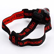 preiswerte Taschenlampen, Laternen & Lichter-Stirnlampen Schweinwerfer LED 800 lm 3 Modus LED Zoomable- Camping / Wandern / Erkundungen