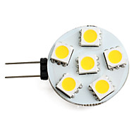 abordables Luces LED de Doble Pin-1.5 W 150 lm G4 Focos LED 6 Cuentas LED SMD 5050 Blanco Cálido 12 V / #