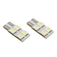 preiswerte -T10 4 * 5050 SMD weiße LED canbus Auto Signalleuchten (2-Pack, DC 12V)