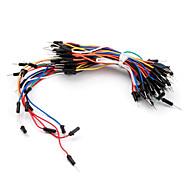 elektronica diy soldeer-minder flexibel breadboard jumper draden 65pcs