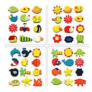 mini fa rajzfilm mágnes kora gyermekkori játékok (12-es csomag, random minta)