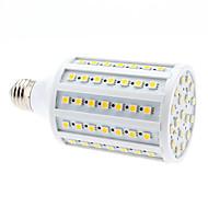 お買い得  LED コーン型電球-680lm E26 / E27 LEDコーン型電球 102 LEDビーズ SMD 5050 温白色 220-240V