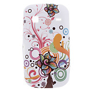Kukka suunnittelu Soft Case for Samsung Galaxy Gio S5660