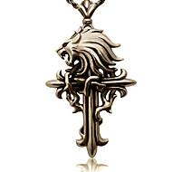 Biżuteria Zainspirowany przez Final Fantasy Cloud Strife Anime / Gry Video Akcesoria do Cosplay Naszyjniki Złoty Slitina Męskie