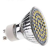 お買い得  LED スポットライト-3W 250-350lm GU10 LEDスポットライト MR16 48 LEDビーズ SMD 3528 ナチュラルホワイト 220-240V