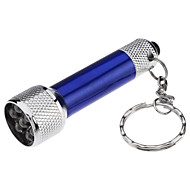 Key Chain Flashlights LED 50 lm 1 Mode - with Batteries Small Size Super Light Compact Size Everyday Use