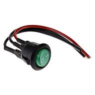 11cm DIY Rocker Switch con 2 cables (125V/6A 10A 250V)