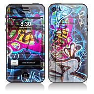 Scrawl отдел дизайна и обратно всего протектор Наклейки для iPhone 5