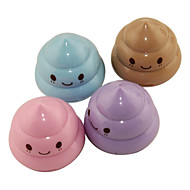 Cute Shit Pattern Pencil Sharpener(Random Colors)