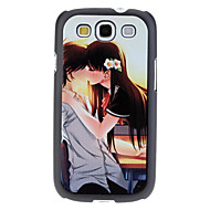 Suudella pari Pattern Hard Case for Samsung Galaxy S3 I9300