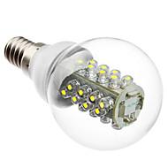 お買い得  LED ボール型電球-1個 2 W 100-130 lm E14 LEDボール型電球 G45 32 LEDビーズ DIP LED 装飾用 ホワイト 220-240 V / RoHs