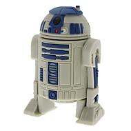 8GB R2-D2 robot high-speed USB 2.0 flash obor voziti siva