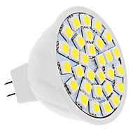 5W GU5.3 (MR16) LED-spotlampen 30 SMD 5050 350 lm Warm wit Koel wit 3500/6000 K DC 12 V