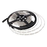 billiga -JIAWEN 5m Flexibla LED-ljusslingor 600 lysdioder 3528 SMD Varmvit / Kallvit Vattentät / Dekorativ / Lämplig för fordon 12 V 1st / Självhäftande