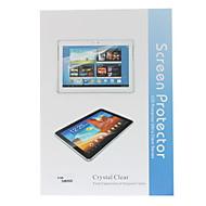 3-σε-1 Crystal Clear Προστατευτικό οθόνης με πανάκι καθαρισμού για το Samsung Galaxy Note 10.1 N8000
