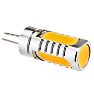 6W G4 Luces LED de Doble Pin 4 leds LED de Alta Potencia Blanco Cálido 450-480lm 3000K DC 12V