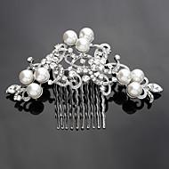 女性の合金のヘッドピース - 結婚式の特別な機会の髪の櫛優雅なスタイル