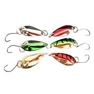 abordables Accesorios para Pesca-Gancho de pesca Especialmente para Weever con señuelo colorido (2,5 g, color ramdon)