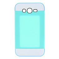 Для Кейс для  Samsung Galaxy Бумажник для карт Кейс для Задняя крышка Кейс для Один цвет PC Samsung Grand
