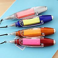voordelige Schrijfwaren-Pen Pen Balpennen Pen, Muovi Blauw Inktkleuren For Schoolspullen Kantoor artikelen Pakje