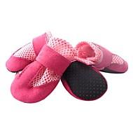 abordables Joyas & Accesorios del Perro-Perro Zapatos y Botas Mantiene abrigado Un Color Negro Rojo Azul Rosa Para mascotas