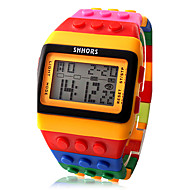 cheap Watch Deals-Women's Watch Strap Sports Digital Colorful Block Brick Style Cool Watches Unique Watches Fashion Watch