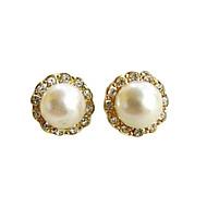 お買い得  -女性用 スタッドピアス  -  真珠, イミテーションダイヤモンド シンプルなスタイル, ファッション 用途 パーティー 日常