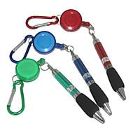 tanie Artykuły biurowe-Pióro Długopis Długopisy kulkowe Długopis, Plastikowy Niebieski Atrament Kolory For Przybory szkolne Artykuły biurowe Paczka